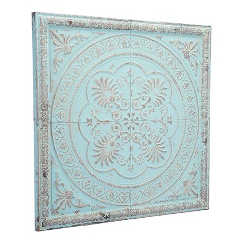 Ancient Plaque Distressed Blue