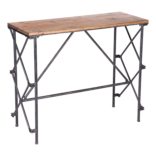 Esquil Console Table Brown
