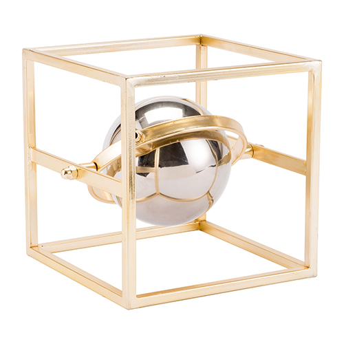 Zuo Modern Contemporary Floating Orb Gold and Silver