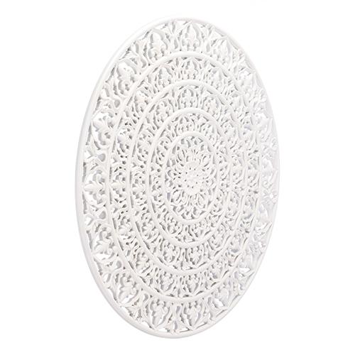 Mandala Wall Decor White