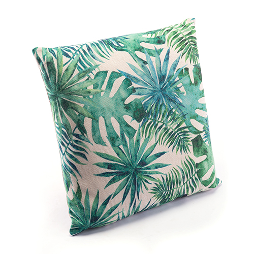 Zuo Modern Contemporary Tropical Green Pillow Green and White