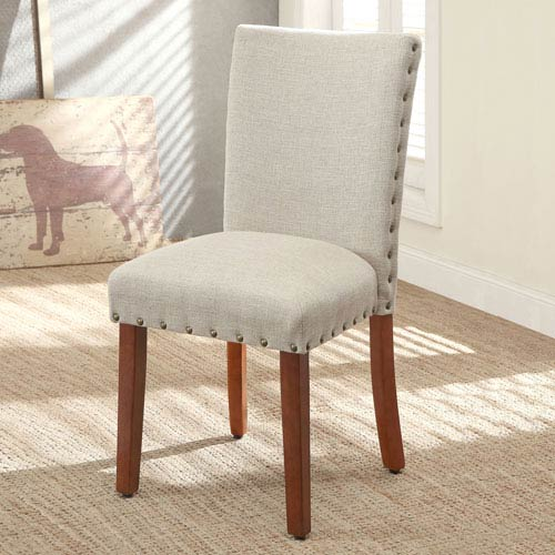 Parsons Chair, Sand, Set of Two