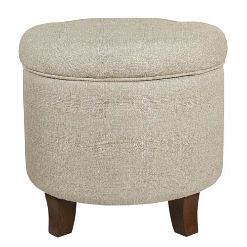 Meadow Lane Boho Tufted Storage Ottoman - Twine  sc 1 st  Bellacor : tufted storage ottoman  - Aquiesqueretaro.Com