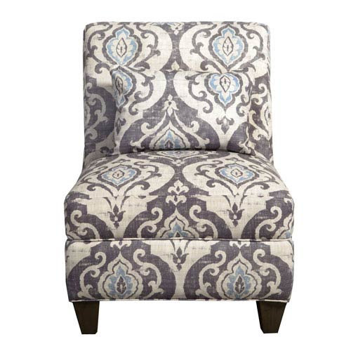 Blue Slate Large Accent Chair