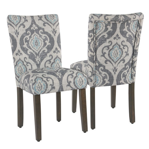 Classic Parsons Dining Chair - Suri Blue - Set of 2