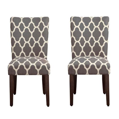Parsons Chair, Warm Gray, Set of Two