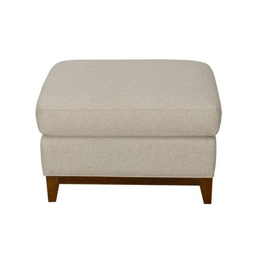 Pillowtop Ottoman - Tan