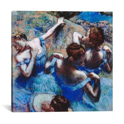 iCanvas Blue Dancers 1899 by Edgar Degas: 37 x 37-Inch Canvas Print