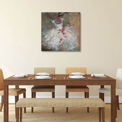 iCanvas Rouge I by Debi Coules: 26 x 26-Inch Canvas Print