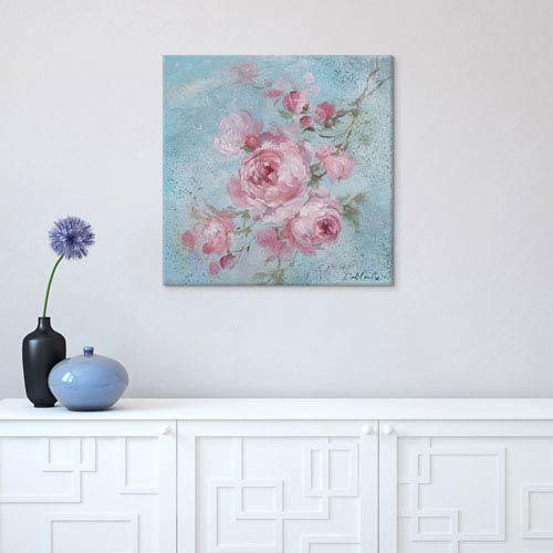 iCanvas Winter Rose I by Debi Coules: 18 x 18-Inch Canvas Print