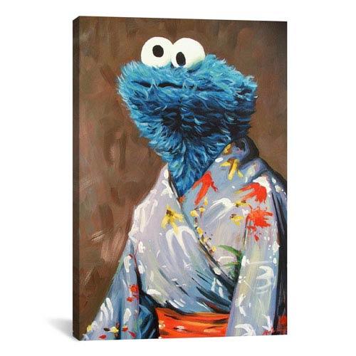 iCanvas Kimono Monster by Hillary White: 26 x 40-Inch Canvas Print