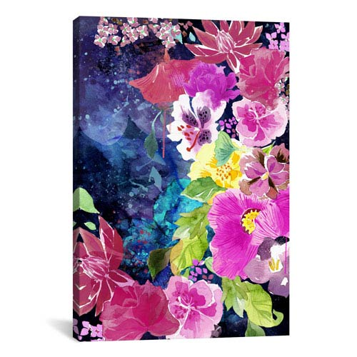iCanvas Everlasting Flowers by 5by5collective: 26 x 40-Inch Canvas Print