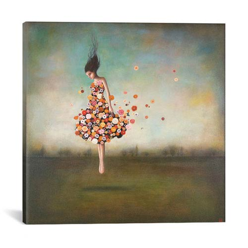 iCanvas Boundlessness in Bloom by Duy Huynh: 18 x 18-Inch Canvas Print