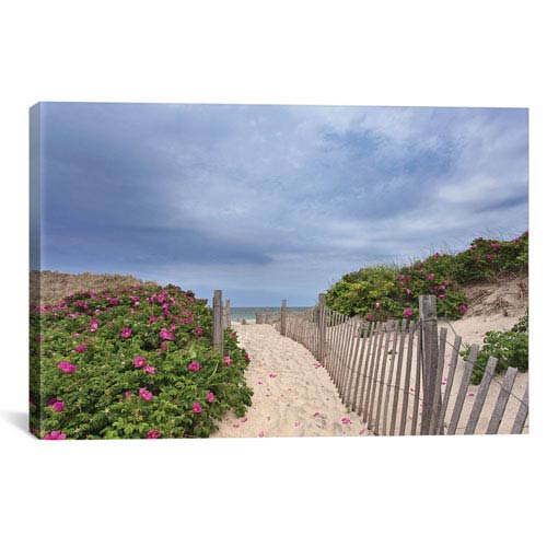 iCanvas Rose Path by Katherine Gendreau: 26 x 18-Inch Canvas Print