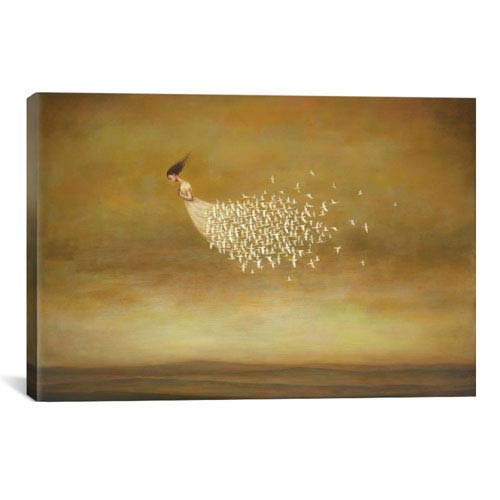 iCanvas Freeform by Duy Huynh: 40 x 26-Inch Canvas Print