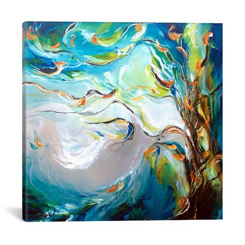 iCanvas Breeze by J.A Art: 26 x 26-Inch Canvas Print