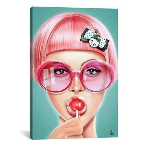 iCanvas Cool by Giulio Rossi: 18 x 26-Inch Canvas Print