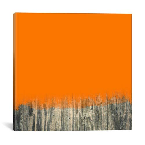 iCanvas Over the Wood Fence by 5by5collective: 26 x 26-Inch Canvas Print