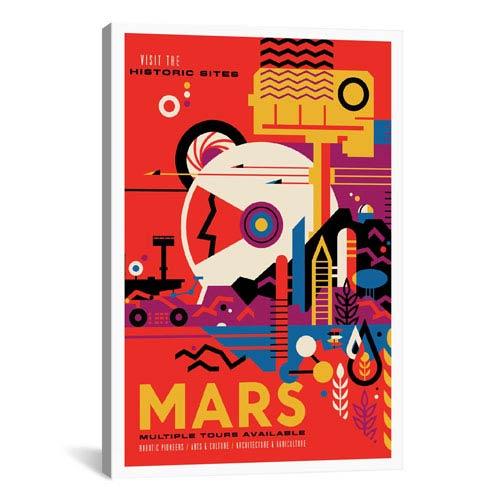 iCanvas Mars by NASA: 26 x 40-Inch Canvas Print