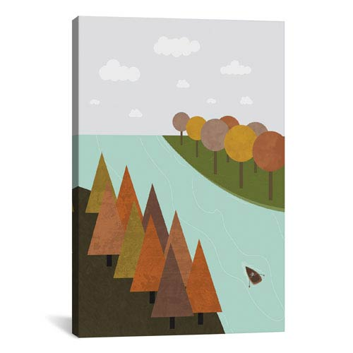 iCanvas Autumn by Flatowl: 18 x 26-Inch Canvas Print