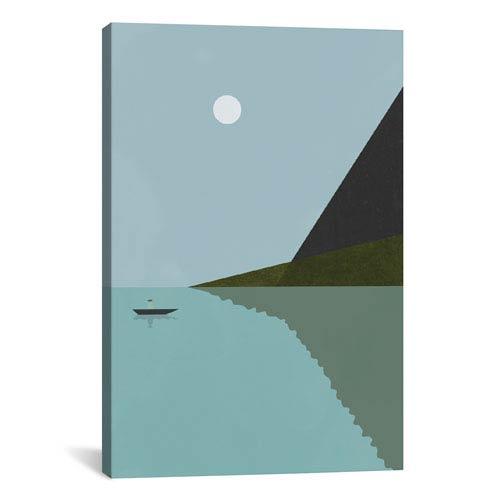 iCanvas Sailing At Night by Flatowl: 18 x 26-Inch Canvas Print