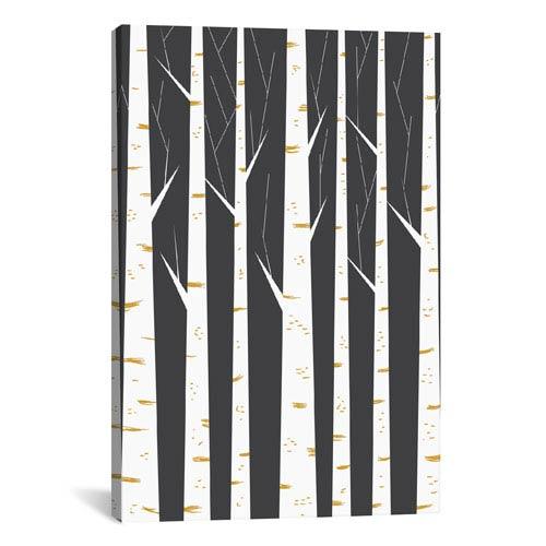 iCanvas Birch Forest by Flatowl: 18 x 26-Inch Canvas Print