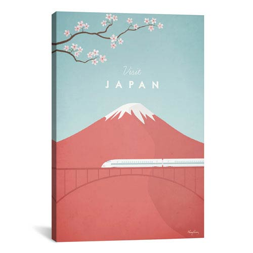 iCanvas Japan by Henry Rivers: 26 x 40-Inch Canvas Print