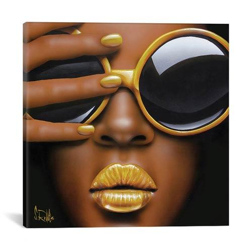 iCanvas Goldilips by Scott Rohlfs: 26 x 26-Inch Canvas Print