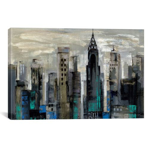iCanvas New York Moment by Silvia Vassileva: 40 x 26-Inch Canvas Print