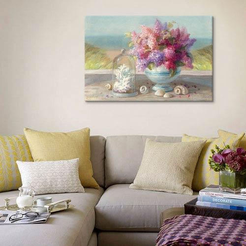 iCanvas Seaside Spring Crop by Danhui Nai: 40 x 26-Inch Canvas Print