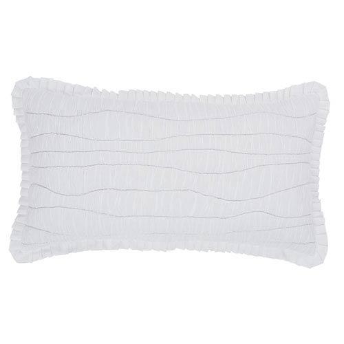 White Aurora Luxury Sham