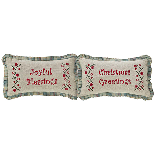 Tidings Tan Pillow, Set of 2