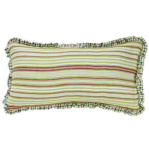 Whimsical Christmas Green Pillow, Set of 2