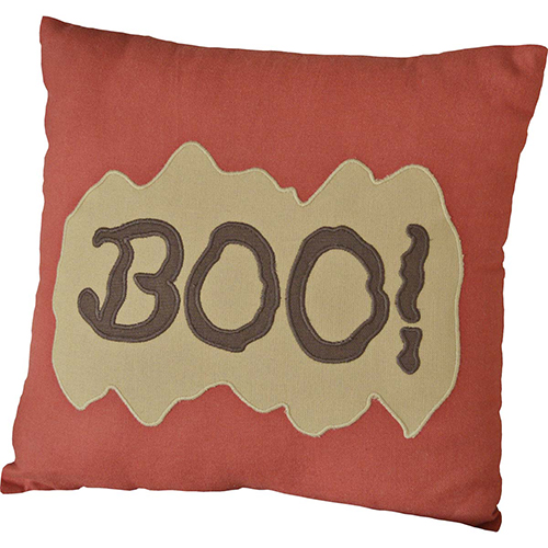 Orange Boo Pillow