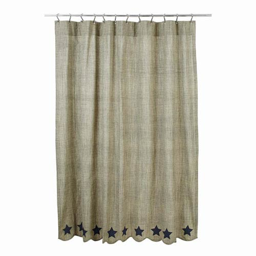 Vincent Khaki 72 x 72-Inch Shower Curtain