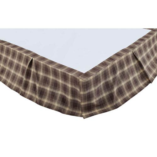 Dawson Star Woodland Brown Twin Bed Skirt