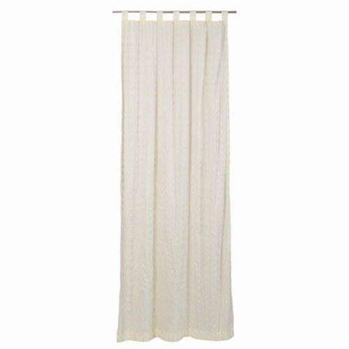 VHC Brands Willow Crème 108 x 50-Inch Panel Set