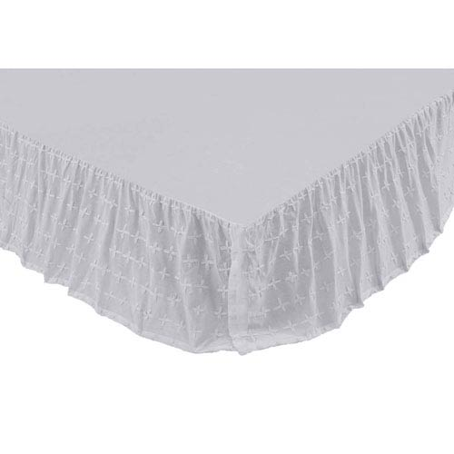 Willow Marshmallow Twin Bed Skirt
