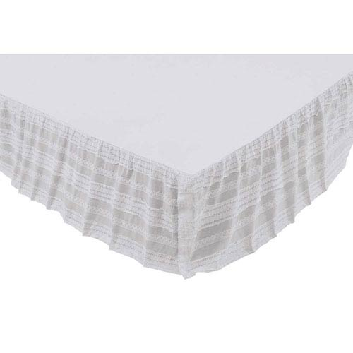 Jasmine Marshmallow Twin Bed Skirt