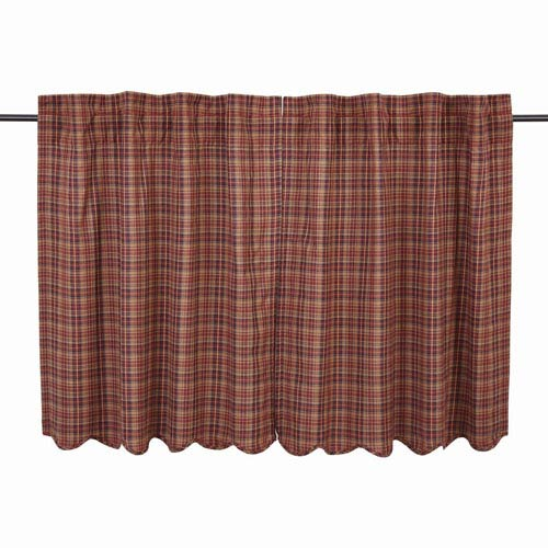 Parker Burgundy 36 x 36-Inch Tier, Set of Two