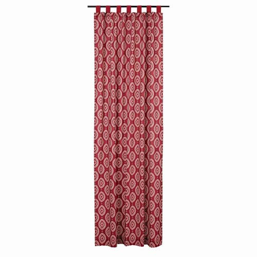 Paloma Crimson 108 x 50-Inch Panel Set