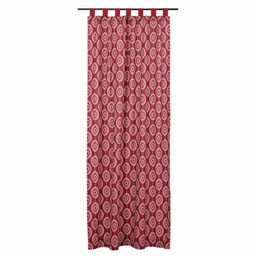 Paloma Crimson 96 x 50-Inch Panel Set