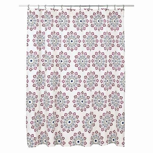 Antigua Creme 72 x 72-Inch Shower Curtain