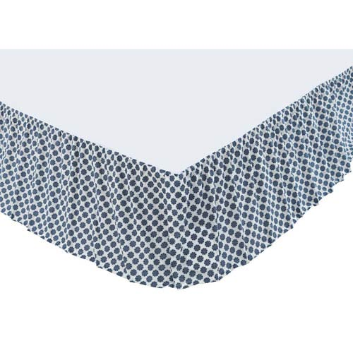 Mariposa Marshmallow Twin Bed Skirt