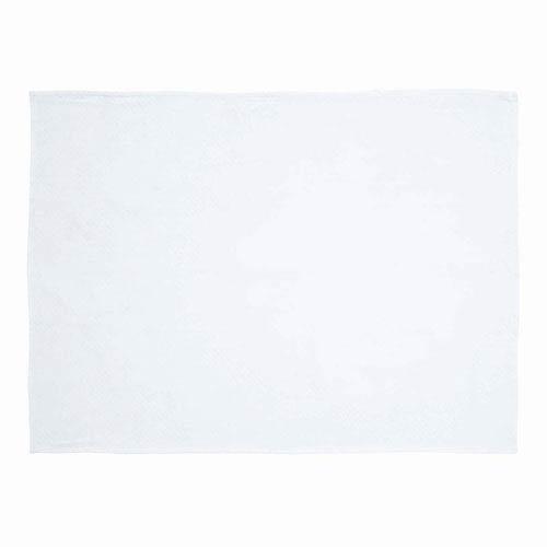 White Baby White 48 x 36-Inch Woven Throw