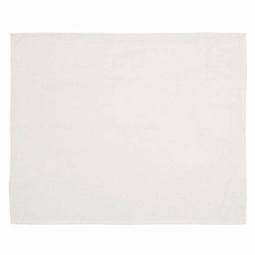 VHC Brands Creme Baby Creme 48 x 36-Inch Woven Throw