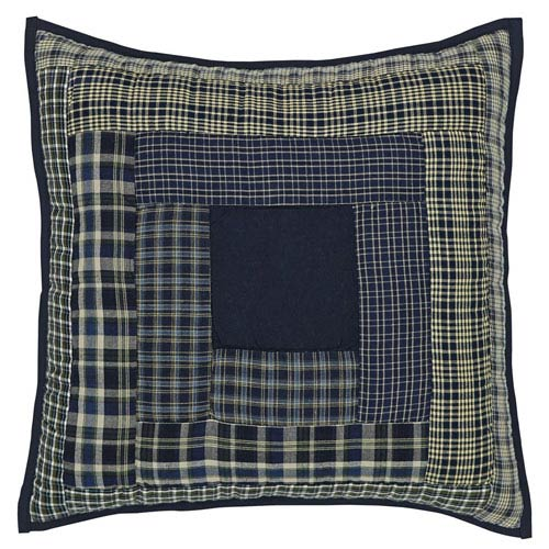Columbus Blue 16 x 16-Inch Accent Pillow with Polyester Filling
