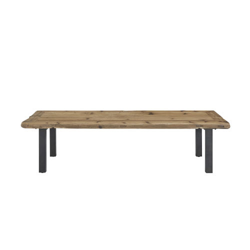 Haven Brown and Black Cocktail Table