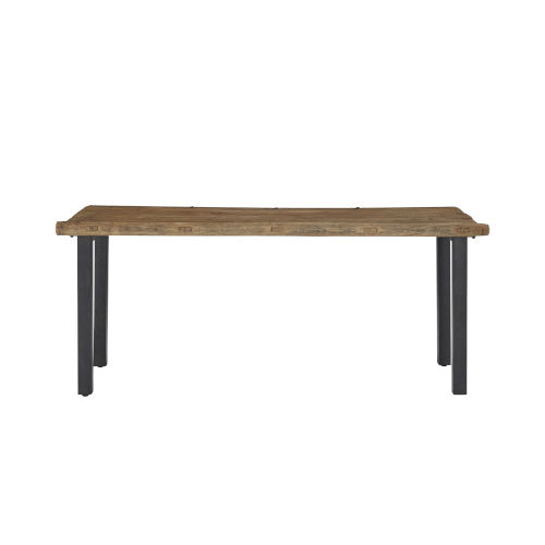 Haven Brown and Black Console Table