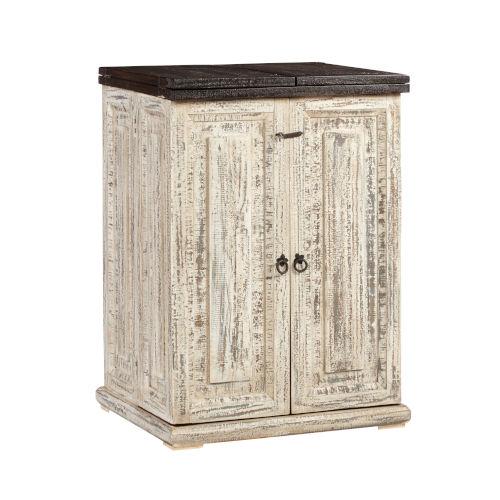 Margarita Vintage White Wine Cabinet